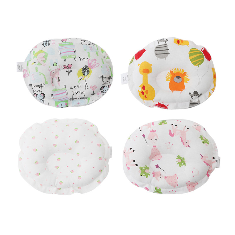 Cotton New Born Baby Pillow Infant Sleep Shape Toddler