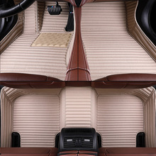 цена Car floor mats for hyundai all Custom models getz tucson solaris creta elantra santa fe kona ix25 i40 car mats auto accessories в интернет-магазинах