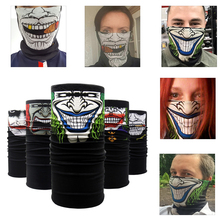 Face Shield Mask Balaclava Neck Scarf SKULL Ghost