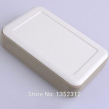 10 pcs/lot 126*81*30mm plastic electronics enclosure handheld plastic junction box abs enclosure housing DIY portable projec box