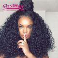 7aMink Pervian Virgin Hair With Closure Peruvian Kinky Curly Virgin Hair With Closure 4pcs Ms Lula Hair With Closure And Bundles