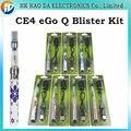 Cigarrillo electrónico Kit Blister EGo Q ego Q batería ecigar líquido cigarrillo electrónico CE4 Atomizador para el cigarrillo eléctrico ego Q kits