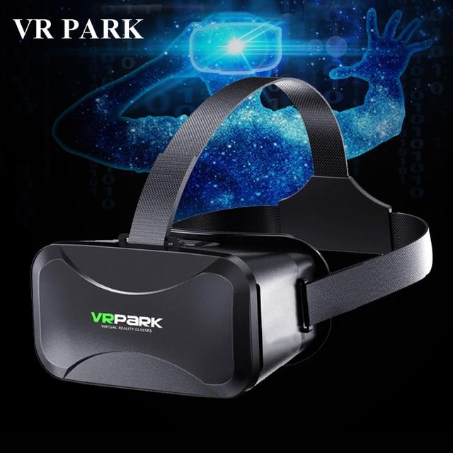 c3f5335f5b VRPARK Realidad Virtual 3D gafas VR auricular de cartón caja para teléfono  inteligente VR Shinecon Pro