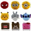 Hot Cute Cartoon Pokemon Plush Coin Purse Children Zipper Change Purse Wallet Hello Kitty Minions Pouch Bag For Kids Gift