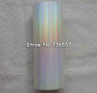 2roll Lot Holographic Foil Plain Transparent Foil Y05 Hot Stamping On Paper Or Plastic 16cm