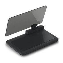 6 Polegadas HD de Navegação GPS HUD Heads Up Display Imagem Refletor para Carros Smart Mobile Cell Phone GPS Car Holder Universal Montagens