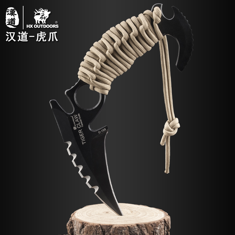 HX Outdoors Tactical Karambit Knife Cs Go Camping Survival Hunting Claw Knives EDC Multi Purpose Tools