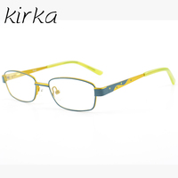 Kirka Brand Kids Boy Cute Spectacle Optical Glasses Frame Slim Stainless Steel Prescription Eyeglass Frame Eyewear