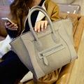 Bolsas de luxo mulheres sacos designer de alta qualidade mulheres famosas marcas de bolsa feminina sorridente couro senhoras bolsa de ombro bolsas