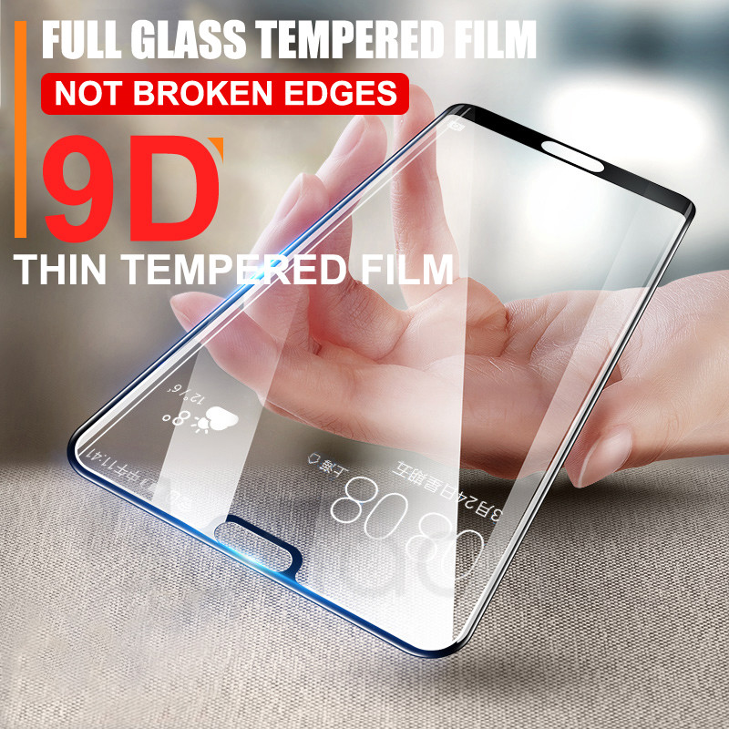 Image 3 - 9D Glass on the For Huawei P20 Pro Lite Plus Screen Protector Tempered Glass For Huawei P Smart 2019 Nova 3E 4 Protector Film-in Phone Screen Protectors from Cellphones & Telecommunications