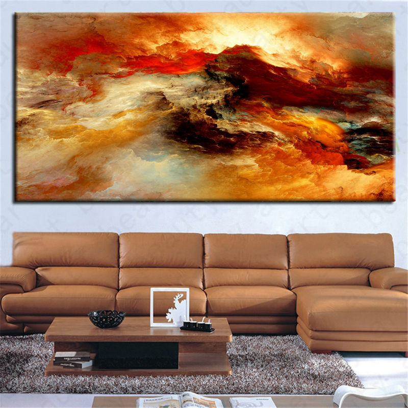 Buy the most famous canvas painting wall pictures for living room abstract art - Home decor stores mn paint ...