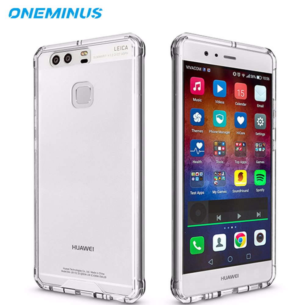 voor P9 case Clear Beschermhoes voor Huawei Mate 9 Case Shockproof Hard cover P10 P10 Plus case cover Fundas P8 Lite 2017