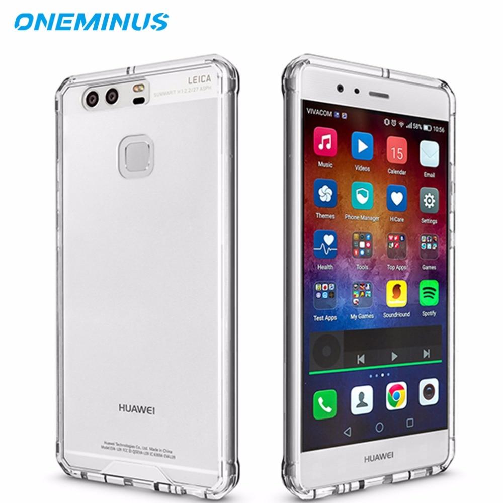 για θήκη P9 Clear Προστατευτική θήκη για Huawei Mate 9 Case Αδιάβροχο σκληρό πίσω κάλυμμα P10 P10 Plus κάλυμμα θήκη Fundas P8 Lite 2017