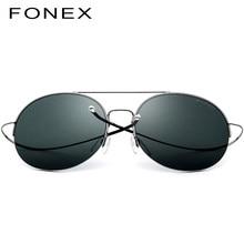 f74a263da7 Elástico de aleación de titanio gafas de sol hombres redondo Oversize de  Nylon lente mujeres Vintage, gafas de sol para hombres .