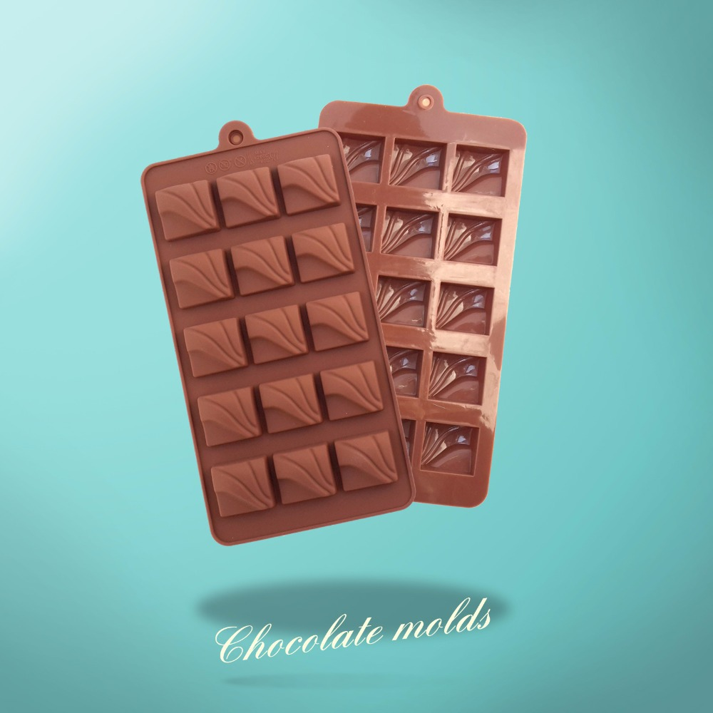 Aliexpress.com : Buy New Flow Square Chocolate Models Silicone ...