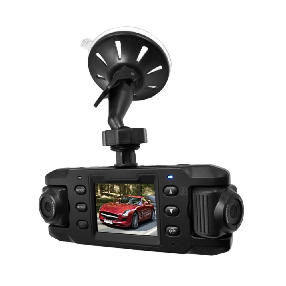 New RH X9 720P HD 2 31 inch LED Screen Vehicle Car DVR Data Recorder Dual