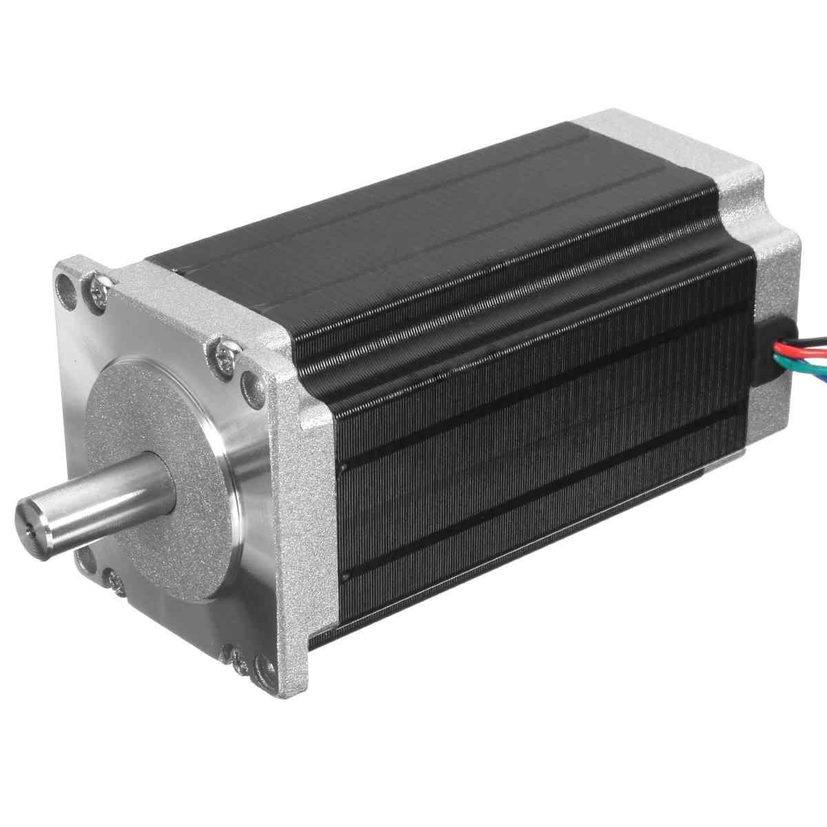 Nema 23 Stepper มอเตอร์ CNC 3.0Nm 4.2A 24-48 V 4-10mm Shaft DIY CNC หุ่นยนต์ 3D เครื่องพิมพ์