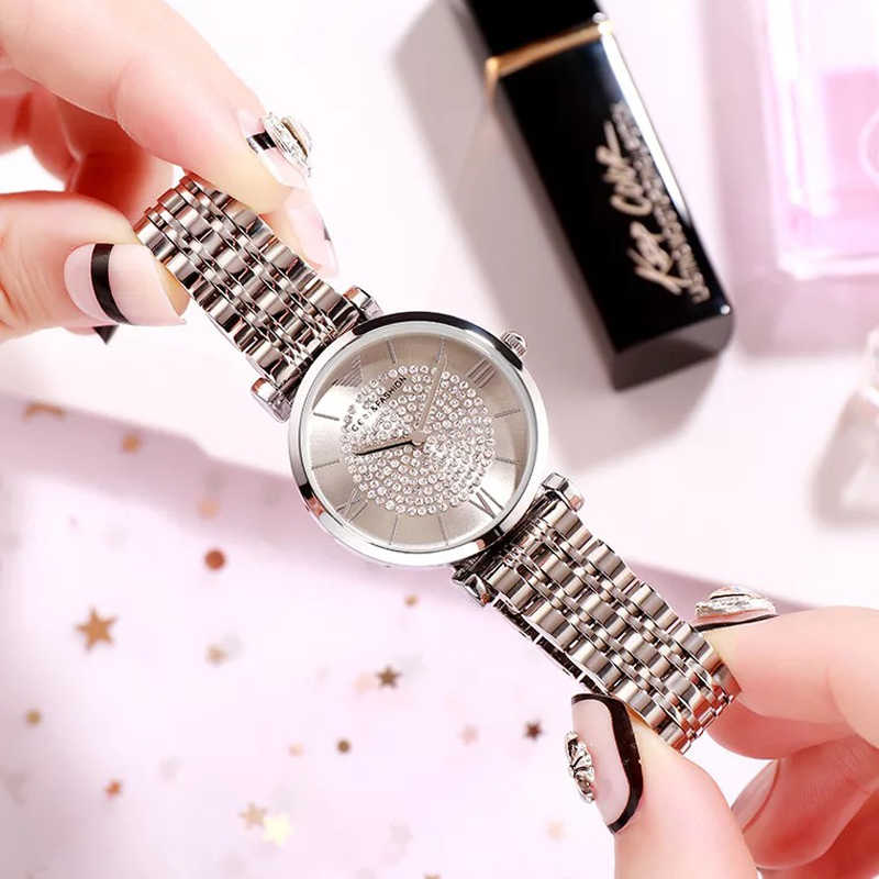 GEDI New Women Watces Luxury Relogio Feminino Rose Gold Dial Fashion Montre Femme Ladies Watches Ladies Women Wristwatches