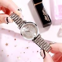 GEDI New Women Watces Luxury Relogio Feminino Rose Gold Dial Fashion Montre Femme Ladies Watches Ladies Women Wristwatches