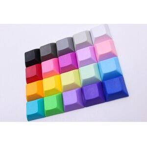 Image 3 - MP 1U DSA Phím PBT Trống Keycap Mixded Màu Cherry MX Switch Keycaps Có Dây USB Bàn Phím Cơ Gaming