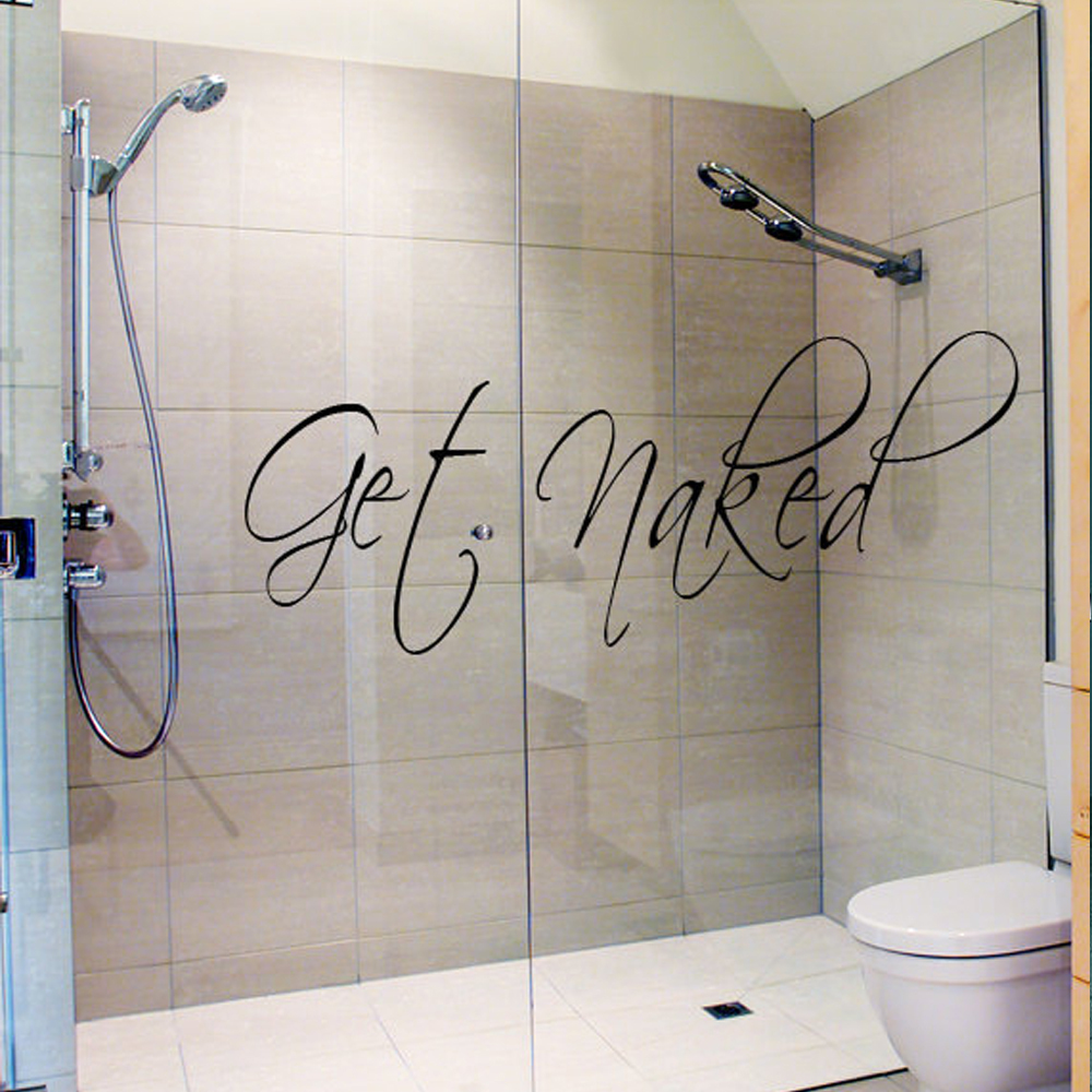 Bathroom Wall Decal Vinyl Sticker Bathtub Decor Shower Room 10 X30 In Stickers From Home Garden On Aliexpress Alibaba Group