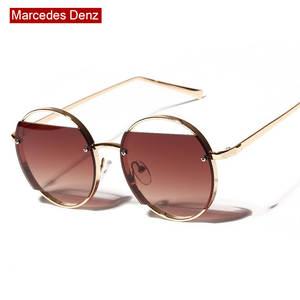 fcf36258d0 JURUI Round Vintage Sunglass For Women Designer Sun Glasses
