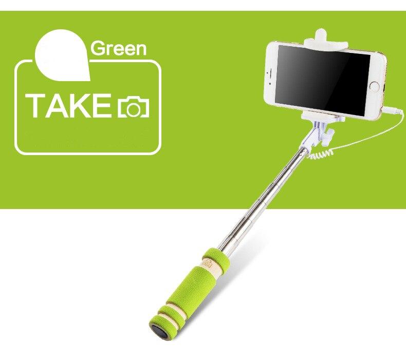 IPhone üçün Portativ qatlanan Simli Mini selfie çubuqlar Samsung - Kamera və foto - Fotoqrafiya 3