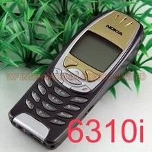 원래 노키아 6310i 2G 잠금 해제 핸드폰 클래식 노키아 6310i 단장 한 휴대 전화 및 6 개월 보증