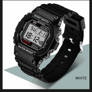 SANDA Digital Watches Shock Professional Military Retro Waterproof Women Fashion Men's