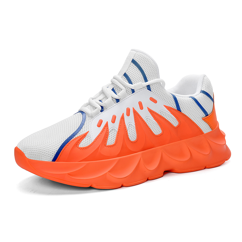 Men Sneakers Running Outdoor Sports Man Walking Shoes Male Trainers Hiking Flats in Men 39 s Casual Shoes from Shoes