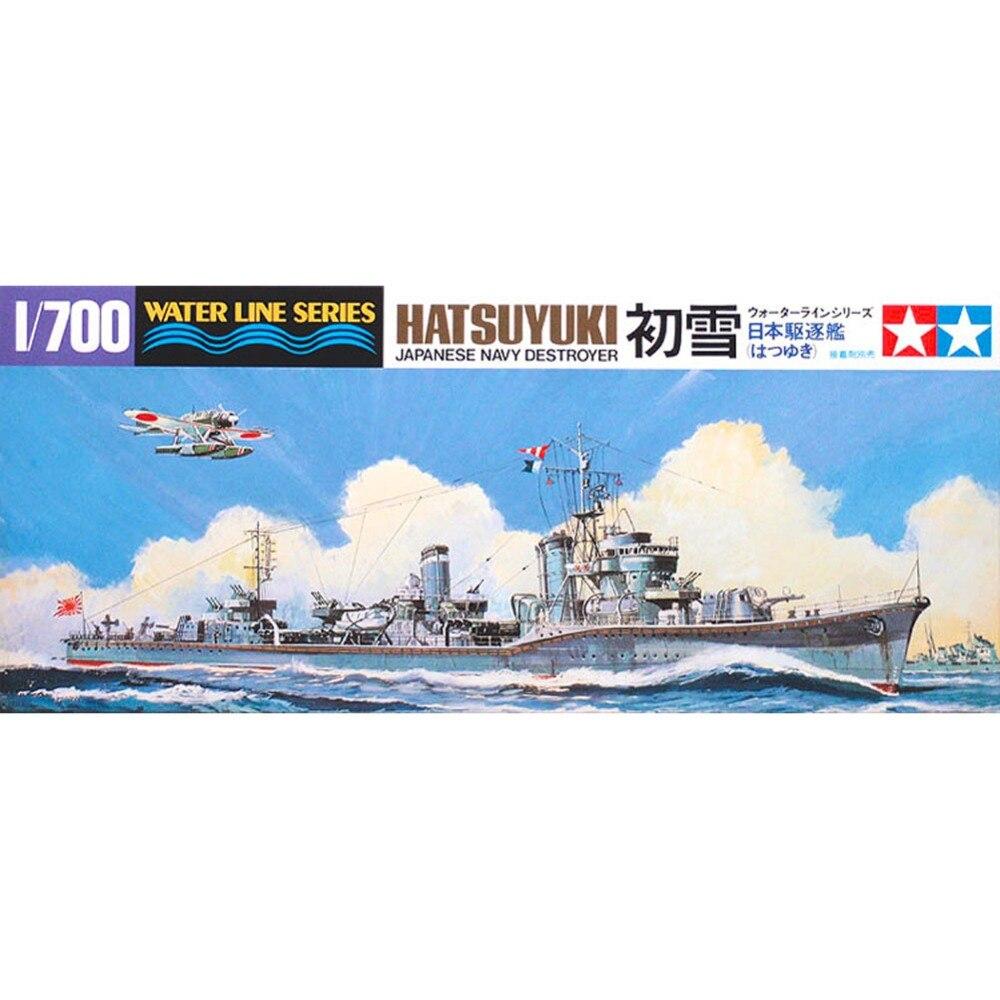 Wwii italy navy battleship roma 1943 plastic model images list - Ohs Tamiya 31404 1 700 Japanese Navy Destroyer Hatsuyuki Dd Assembly Scale Military Ship Model
