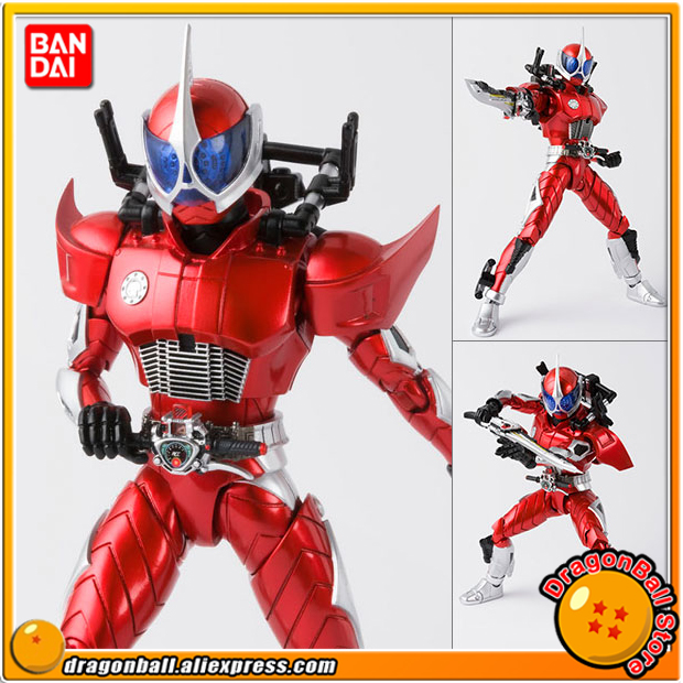Japan Anime Masked Rider Double / W Original BANDAI Tamashii Nations S.H.Figuarts / SHF Action Figure - Kamen Rider Accel