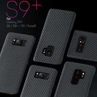 Luxury Carbon Fiber Case For Samsung Galaxy S10 Plus S8 S9 Plus Note 10 Note 9 8 Matte Aramid Fiber Case Ultra Thin Phone Cover