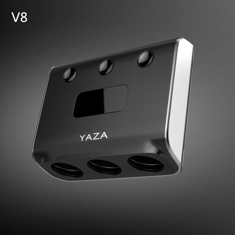 Yzd-v8 сильный Выход 3 в 1 автомобиля cigaretter прикуривателя автомобиля Зарядное устройство для всех мобильных телефонов и Планшеты с Bluetooth 2.0
