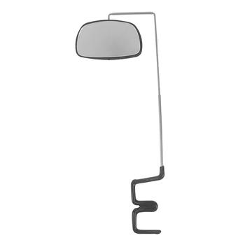 Do roweru szosowego i górskiego kierownica MTB aluminium rower ze stopu lusterka wsteczne 360 stopni obrót lusterko wsteczne do roweru lusterka nadaje się tanie i dobre opinie JULYHOT CN (pochodzenie) Bike Rearview Mirror piece 0 038kg (0 08lb ) 16cm x 14cm x 1cm (6 30in x 5 51in x 0 39in)