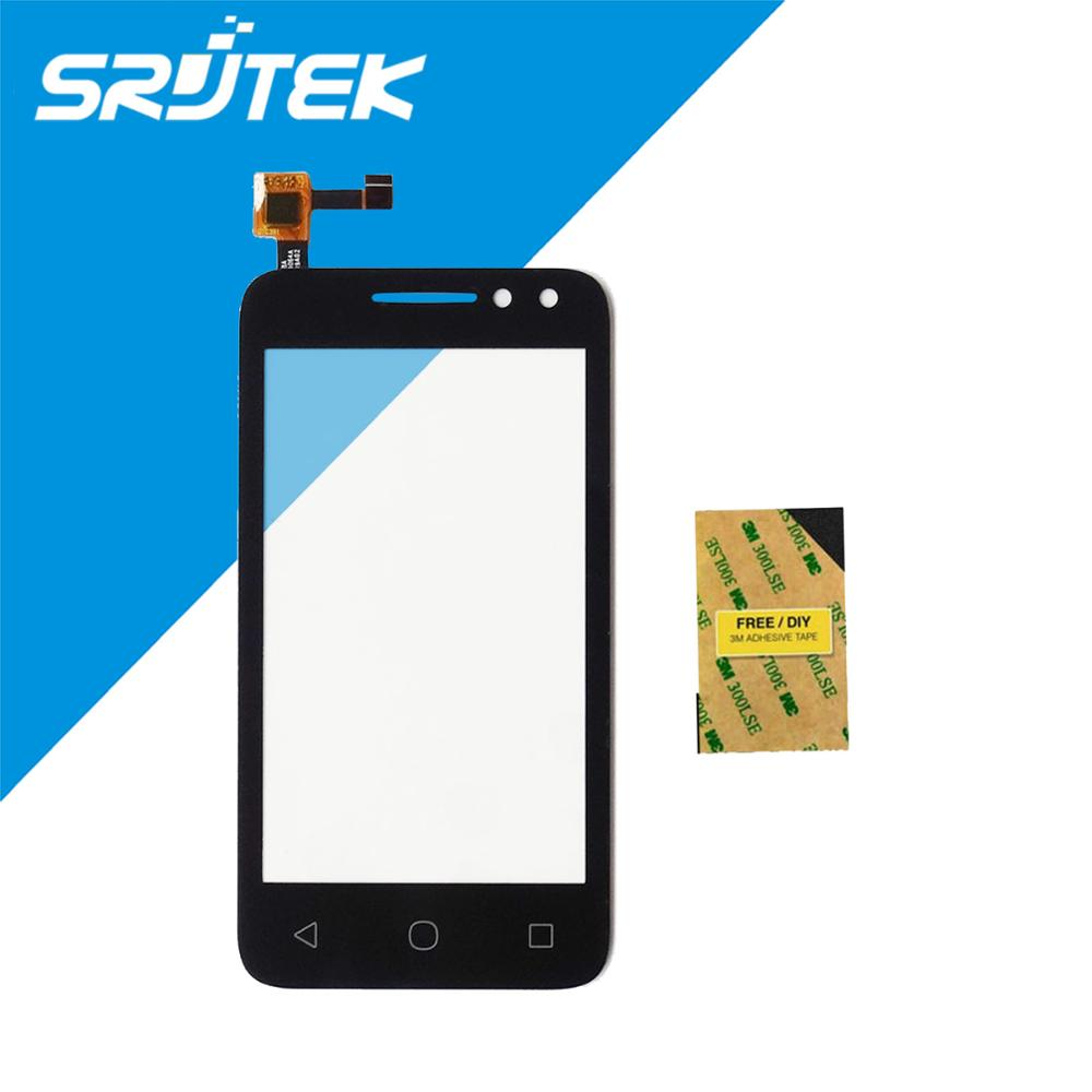 4.0 Touch Screen Digitizer For Alcatel One Pixi 4 Touch OT4034 4034D 4034A 4034E OT-4034 Glass Sensor Free Shipping