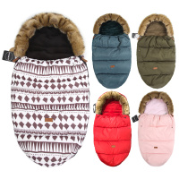 Baby Sleeping Bag For Newborns Winter Thick Warm Sleep Sacks For Stroller Sleep Bag For Kids