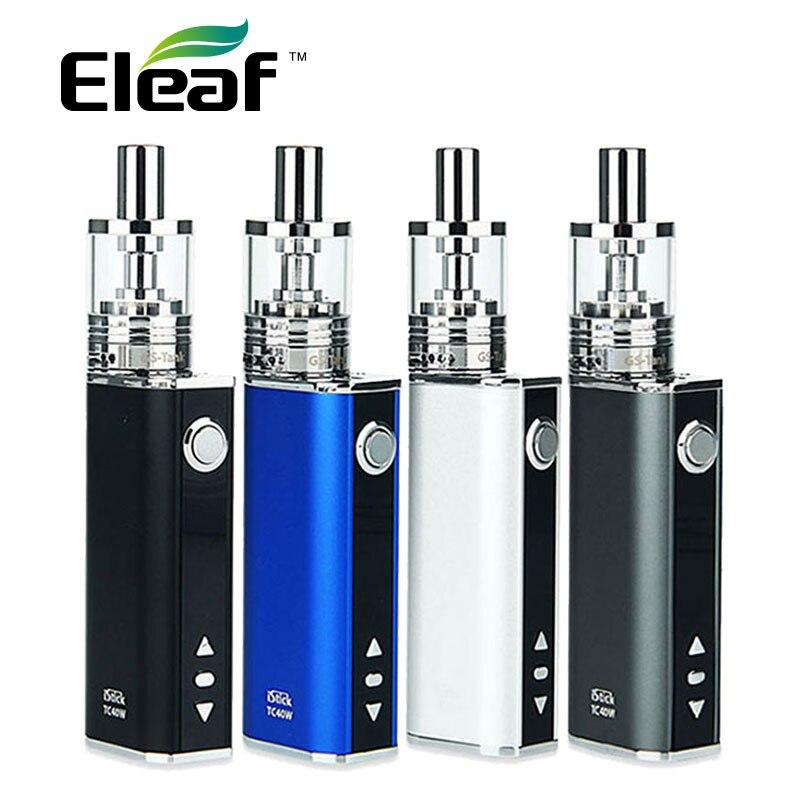 Original 40 Watt Eleaf iStick TC Starter Kit w/GS TC Tank 3 ml istick 40 Watt Batterie 2600 mAh Elektronische Zigarette vs istick pico kit