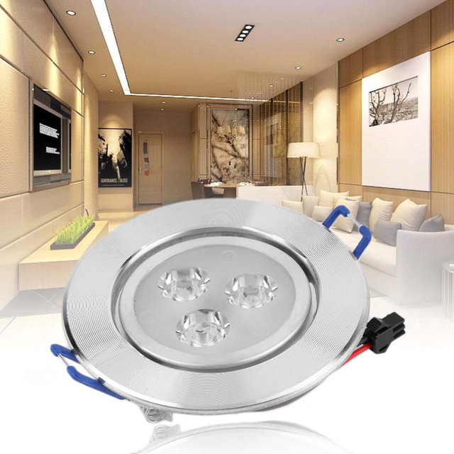 ICOCO led downlight 3W Optimized Design Recessed Ceiling Spot Lamp Bulb