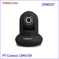 Foscam Black FI9821P P2P 1 Megapixel HD 720 P HD Pan Tilt Wired Wireless IP Camera
