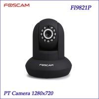 Foscam Black FI9821P P2P 1 Megapixel HD 720 P HD Pan Tilt Wired Wireless IP Camera
