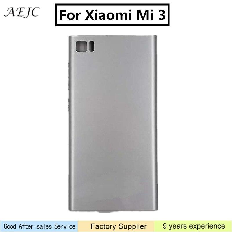 For Xiaomi Mi3 Battery Cover Rear Door Back Housing Case Replacement Foe Xiaomi  Mi 3 Battery Cover cba9084425