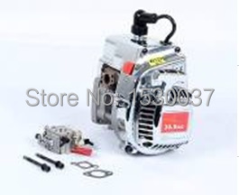 Chrome plated appearance suite 30.5 CC four fixed engine (Walbro carburetor, NGK spark plug)for baja 5b/5t/5sc 27 5cc 2t 4 bolt gasoline engine walbro 668 carburetor ngk spark plug 7000 light clutch fits hpi baja 5b losi 5ive t redcat