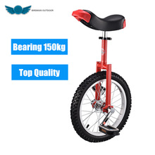 Brand New 16″ 18″ 20″ 24″ Unicycle Cycling Scooter Circus Bike Youth Adult Balance Exercise Single wheel Bicycle Aluminum Wheel