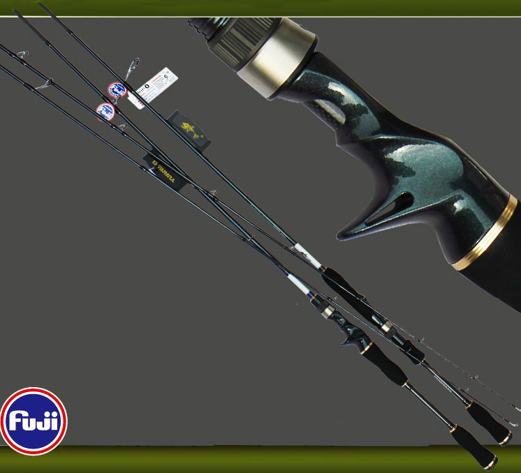 YUANWEI Spinning/Casting Angelrute 1,8 mt 2,1 mt M Power Carbon Rod Vara De Pesca Olta Spinning Rod canne EINE Peche A050