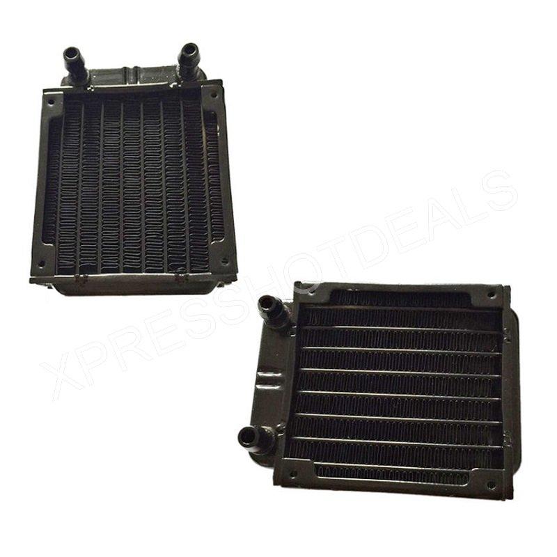 New Computer Radiator Water Cooling Cooler for CPU LED Heatsink Aluminum 120mm