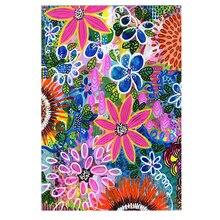 DIY Diamond Painting flower jungle full Embroidery flowers Mosaic world Cross Stitch Home Decor