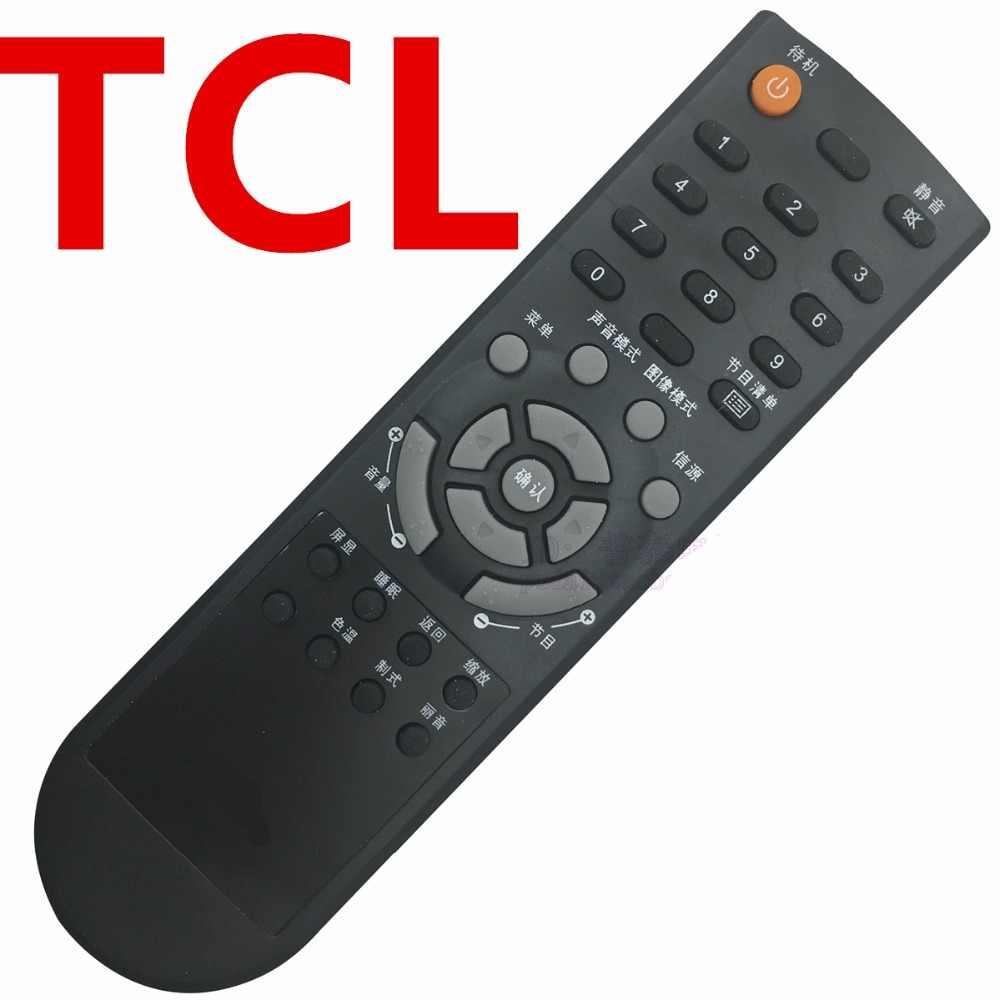 Control remoto para L19N6 L22N6 L26N6 L32N6 L37N6 L42N6 L19N8 tcl TV LED LCD CONTROL remoto botón chino