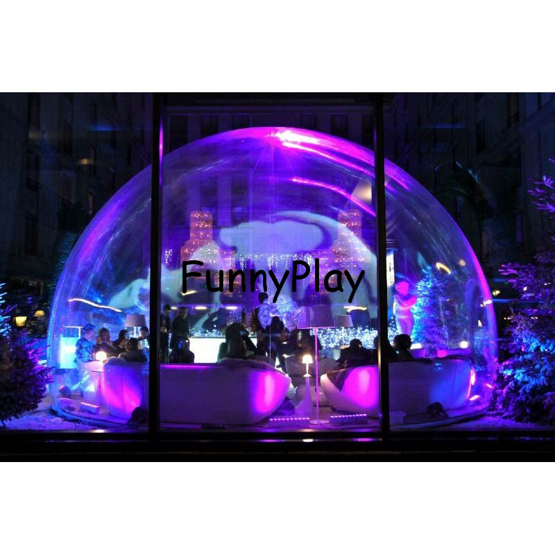 inflatable transparent bubble tent,PVC Bubble Inflatable Yard Tent Outdoor Inflatable Bubble Tent With 1 Tunnels Family Backyard inflatable tent with blower for children funny outdoors park indoor pvc white play house bubble tent commercial with toilet