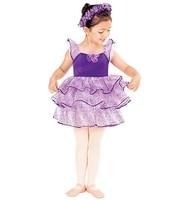 Children's Ballet Skirt Show Sprinkle Gold Mesh Skirt Cute Cake Skirt Costume